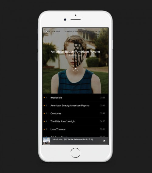 Rsz best free music app on iphone