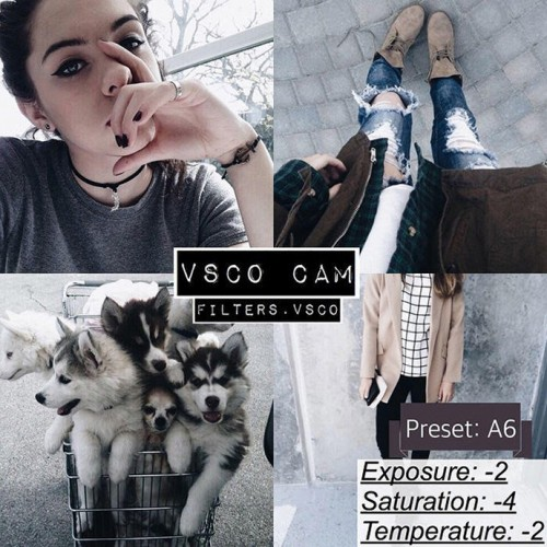 27 VSCO cam filter settings