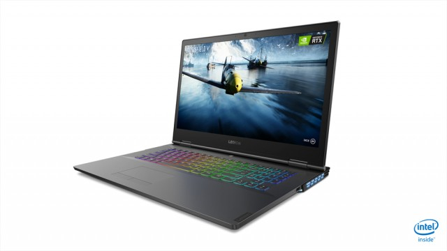 03 Legion Y740 Notebook 17Inch Hero Front Facing Left