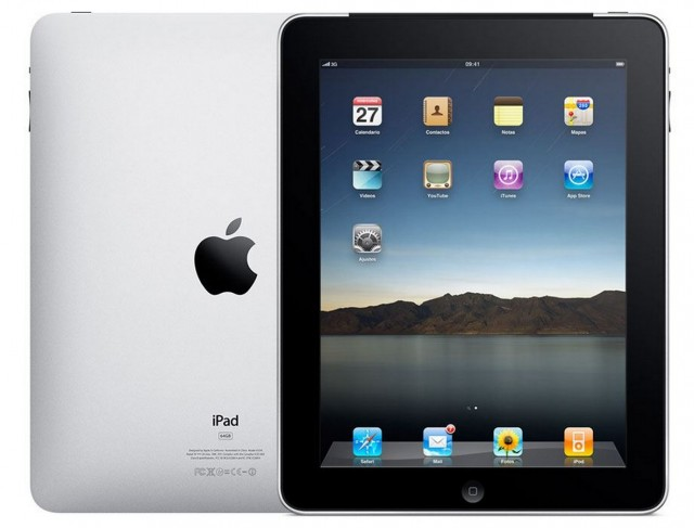ipad 1st generation large