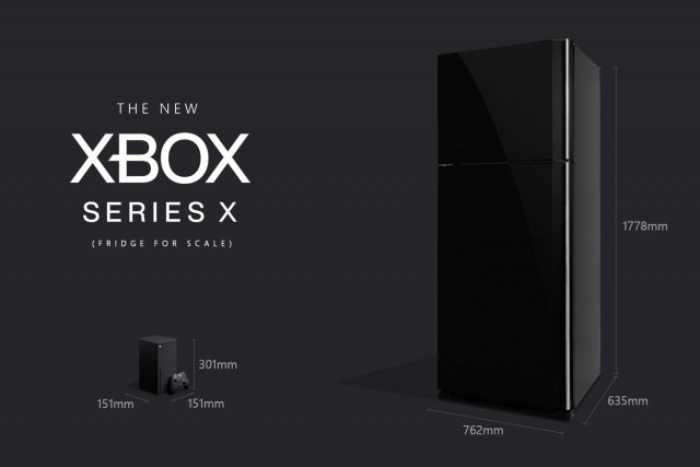 Xbox Series X Size Comparison.0